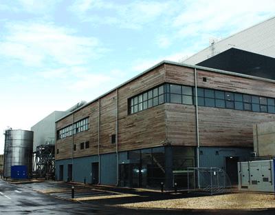 Commercial Air Pressure Test, Brigg Biomass Centre, Lincolnshire