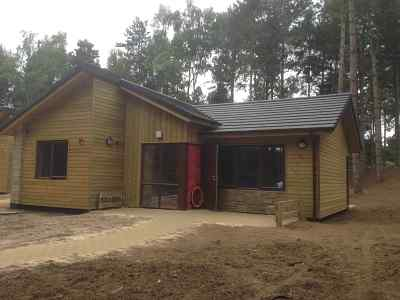 Commercial Air Pressure Test, Woodland Lodge, Centre Parcs, Woburn, Bedfordshire, External View