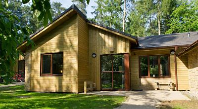 Commercial Air Pressure Test, Woodland Lodge, Centre Parcs, Woburn, Bedfordshire