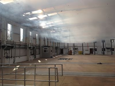 Commercial Air Pressure Test with Smoke Test, Sutterton, Lincolnshire, undertaken by EPS Group