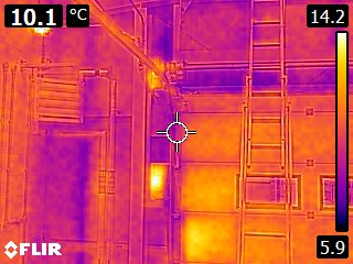 Commercial Air Pressure Test with Thermal Image Diagnosis, Sutterton, Lincolnshire by EPS Group