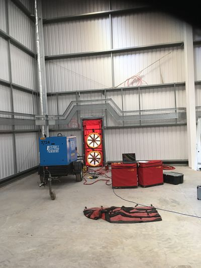 Commercial Air Pressure Test Stafford