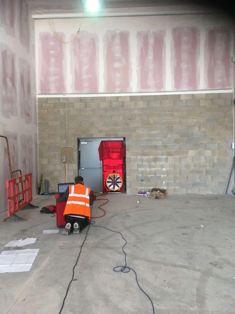 Commercial Air Test, Nottingham. Internal View