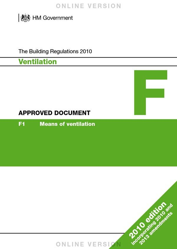 Approved Document Part F