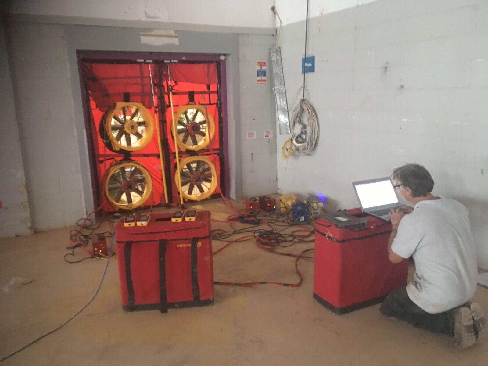 Commercial Air Pressure Test Wolverhampton