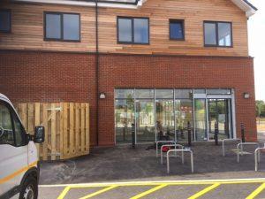 Commercial Air Tightness Test - Retail Unit - Cambourne Cambridge