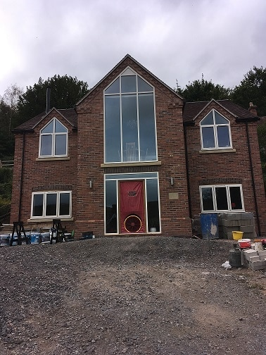 Air Pressure Test, New Dwelling in Church Stretton, Shropshire